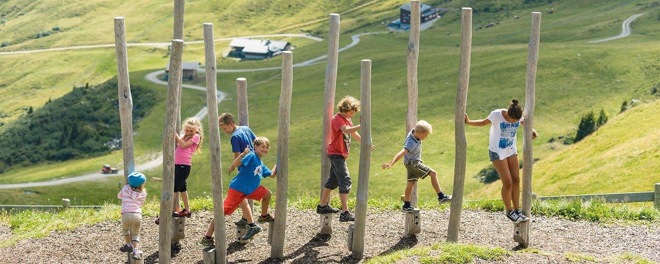 Outdoor Spielplatz auf der Schlossalm in Bad Hofgastein