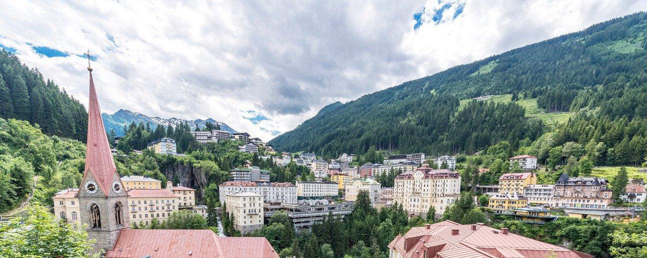 Panoramablick über Bad Gastein