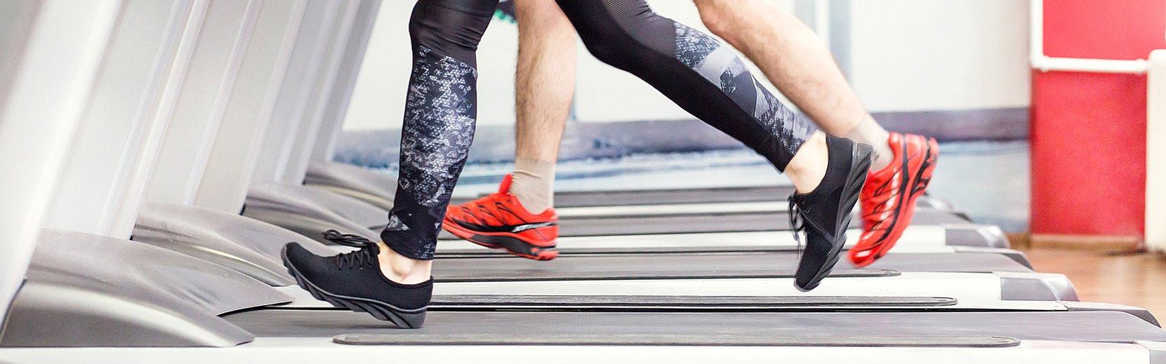 Laufband im Fitnessstudio in der Alpentherme Bad Hofgastein