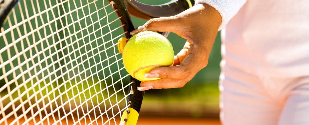 Aufschlag Tennis Gastein