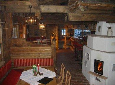 Hirschenhütte innen